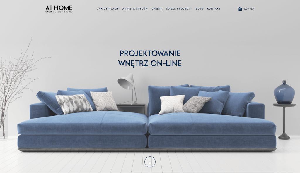 At home design - projektowanie wnętrz on-line